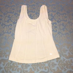 Athletic Works White Fitted Tank
